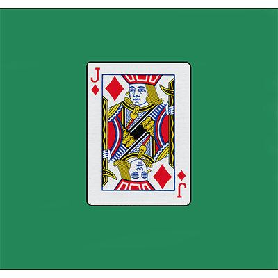 "Card Silk 18"" (Jack of Diamonds) by Vincenzo Di Fatta"