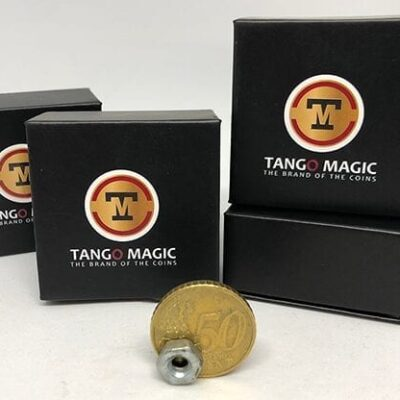 Magnetic Coin Strong Magnet 50 cents Euro (E0019) by Tango - Trick