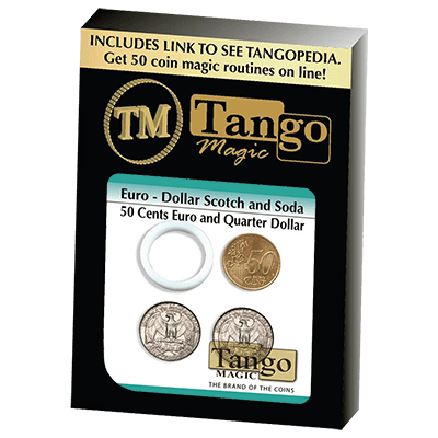 Euro-Dollar Scotch And Soda (50 Cent Euro and Quarter Dollar)(ED001)by Tango-Trick