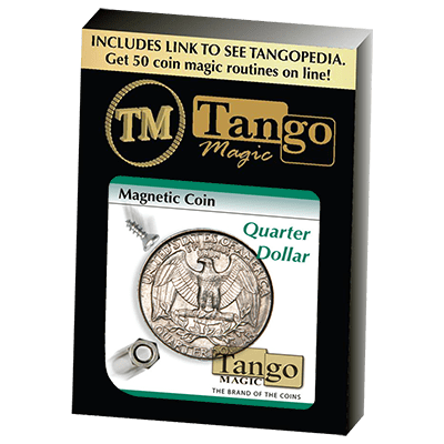 Magnetic Coin D0026(Quarter Dollar) by Tango - Trick