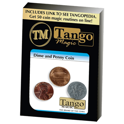 Dime and Penny trick(D0048) by Tango - Trick
