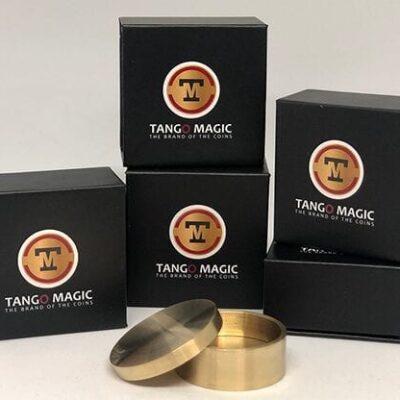 Boston Coin Box Brass (50 cents Euro) by Tango - Trick (B0006)
