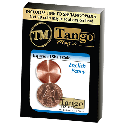 Expanded Shell English Penny (D0011) by Tango - Trick
