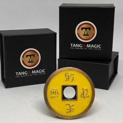 Normal Chinese Coin made in Brass (Yellow) by Tango-Trick (CH010)