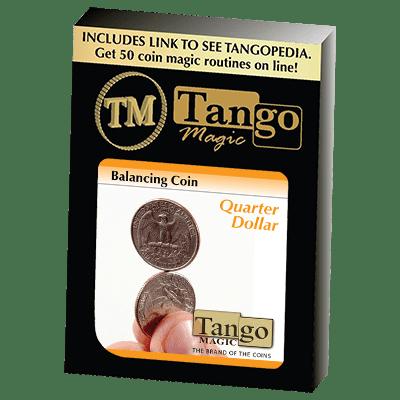 Balancing Coin (Quarter Dollar)(D0066) by Tango Magic - Trick