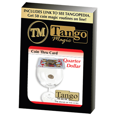 Coin Thru Card (Quarter Dollar) (D0017) Tango