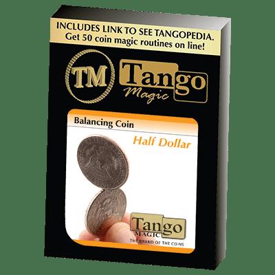 Balancing Coin (Half Dollar) by Tango Magic - Trick (D0067)