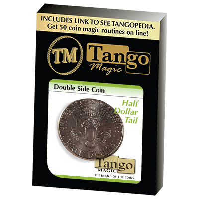 Double Side Half Dollar (Tails)(D0077) by Tango - Trick