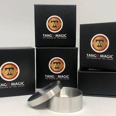 Boston Coin Box (Half Dollar Aluminum) by Tango - Trick (A0008)