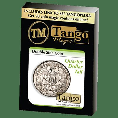 Double Side Quarter (Tails)(D0036) by Tango Magic - Trick