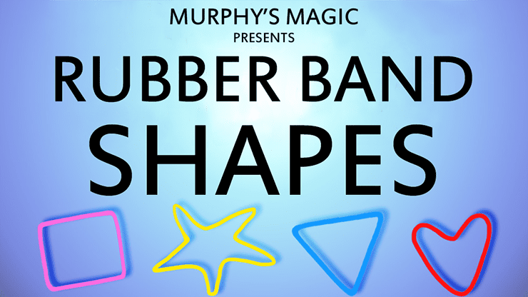 Rubber Band Shapes (Squares) - Trick