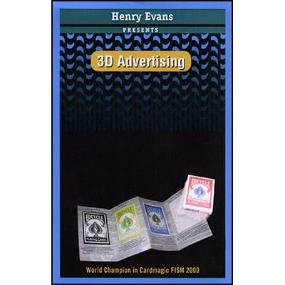 3D Advertising by Henry Evans - Trick