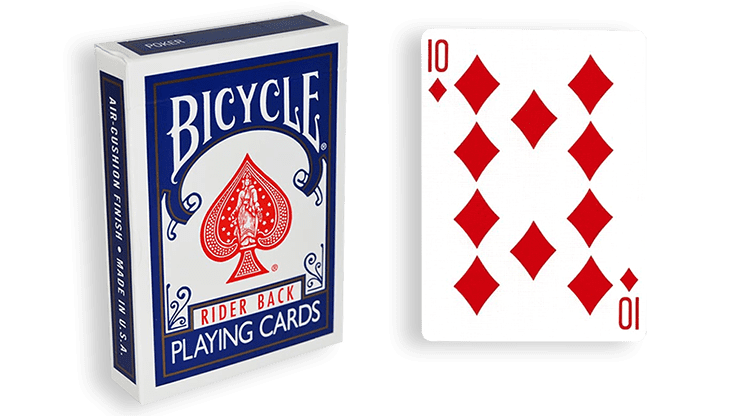 Blue One Way Forcing Deck (10d)