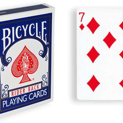 Blue One Way Forcing Deck (7d)