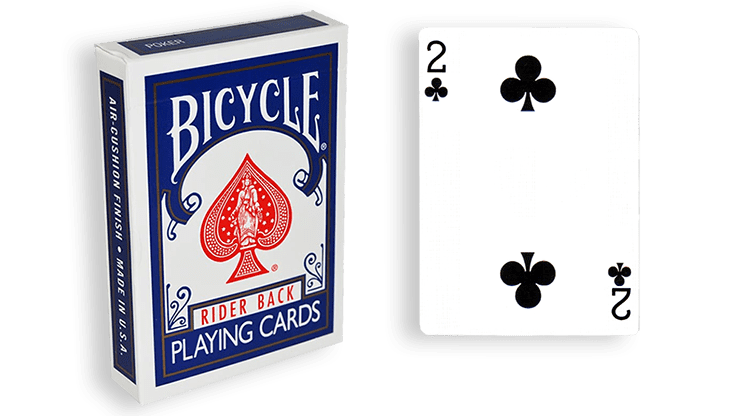 Blue One Way Forcing Deck (2c)