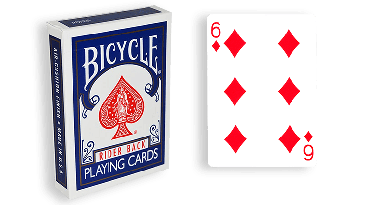 Blue One Way Forcing Deck (6d)