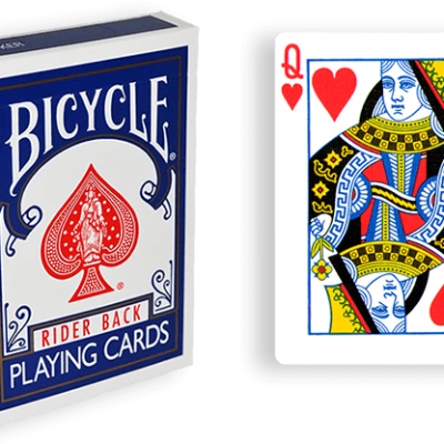 Blue One Way Forcing Deck (qh)