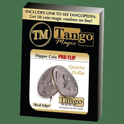Flipper coin Pro Flip Quarter dollar (D0105) by Tango