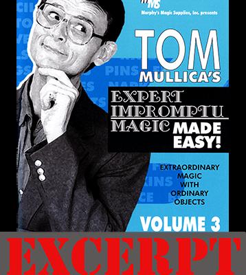 Paul Harris' Fizz Master video DOWNLOAD (Excerpt of Mullica Expert Impromptu Magic Made Easy Tom Mullica- #3, DVD)