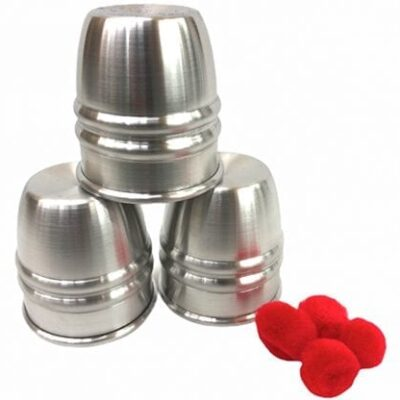 3 Bead Cups & Balls by Ickle Pickle - Trick