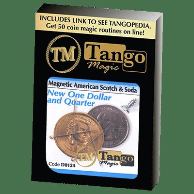 American Scotch & Soda (D0124)(MAGNETIC) by Tango Magic - Tricks