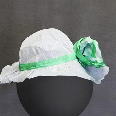 Bonnet Hat Tear by Andy Amyx - Trick