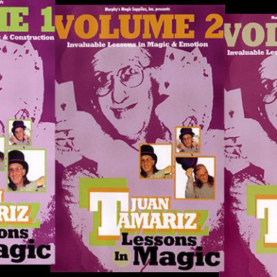3 Vol. Combo Juan Tamariz Lessons in Magic video DOWNLOAD