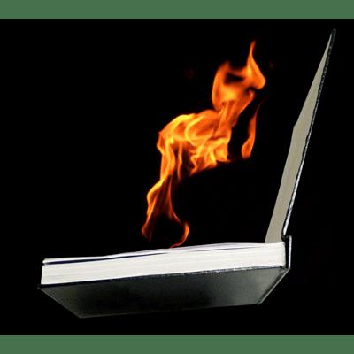 FIRE BOOK (Hot Book) by Premium Magic - Trick