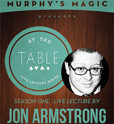 At the Table Live Lecture - Jon Armstrong 6/4/2014 - video DOWNLOAD