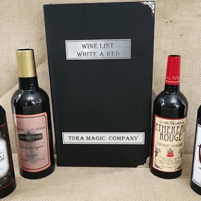 Magic Wine List by Tora Magic - Trick