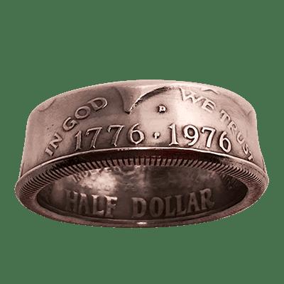 Genuine Half-Dollar Ring(10/19.76 mm)By Diamond Jim Tyler - Trick