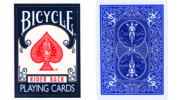 Blue One Way Forcing Deck (Black and White Joker only)