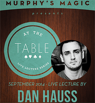 At The Table Live Lecture - Dan Hauss 9/10/2014 video DOWNLOAD