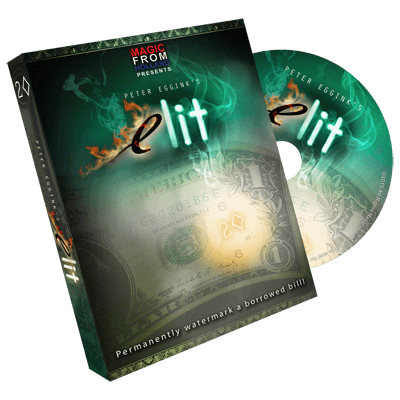 eLit (DVD and Gimmick) by Peter Eggink - DVD
