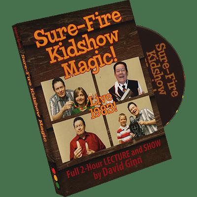 Sure Fire Kid-show Magic by David Ginn - DVD
