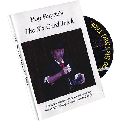Pop Haydn's The Six Card Trick (DVD) by Whit Haydn - Trick