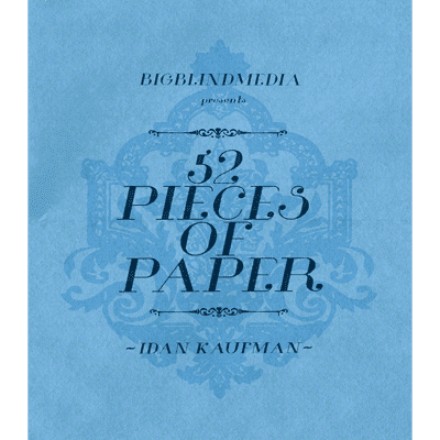 52 Pieces Of Paper by Idan Kaufman and Big Blind Media video DOWNLOAD