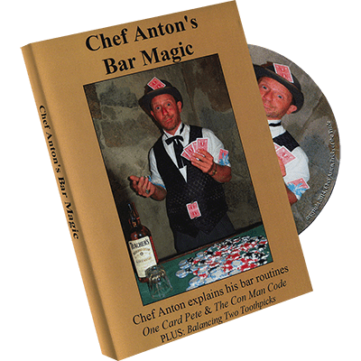The Bar Magic of Chef Anton by Chef Anton - DVD