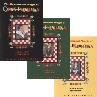 Restaurant Magic Set (Vol 1 thru 3) by Dan Fleshman video DOWNLOAD