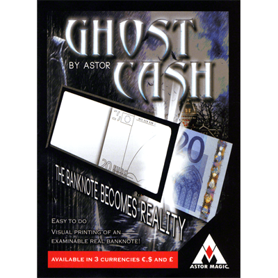 Ghost Cash (Euro) by Astor - Trick
