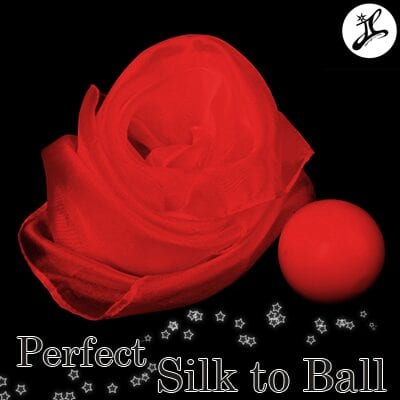 Perfect Silk to Ball red(Automatic)by JL Magic - Trick