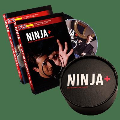Ninja+ Deluxe SILVER (Gimmicks & DVD) by Matthew Garrett - Trick