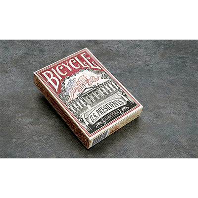 Bicycle US Presidents Playing Cards (Red Collector Edition) by Collectable Playing Cards