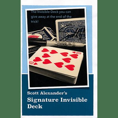 Signature Invisible Deck by Scott Alexander - Trick