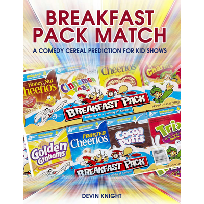 Breakfast Pack Match (Mentalism for Kids) by Devin Knight - eBook DOWNLOAD