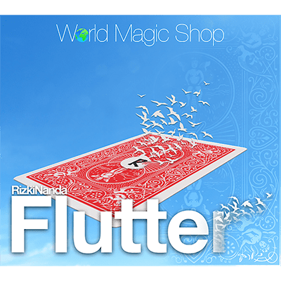 Flutter (DVD and Gimmick) by Rizki Nanda and World Magic Shop - DVD