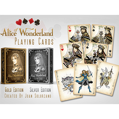 Alice of Wonderland Silver by Gamblers Warehouse