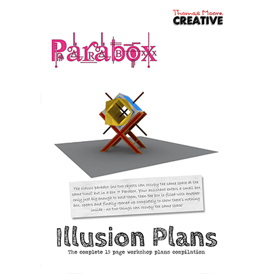 Paradox Master Plans by Thomas Moore - Book