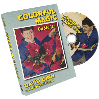 Colorful Magic on Stage by David Ginn - DVD