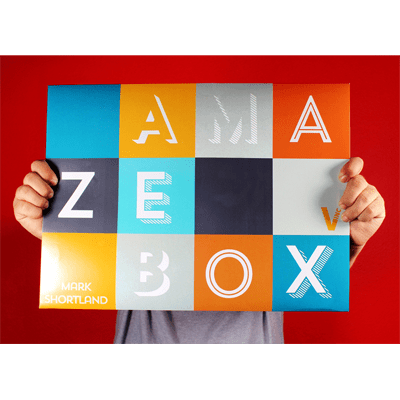 AmazeBox (Gimmicks and Online Instructions) by Mark Shortland and Vanishing Inc - Trick
